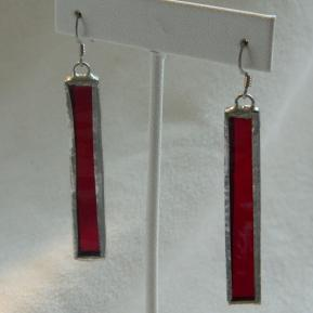 Icicle Earrings.2.Righteous Red.JPG
