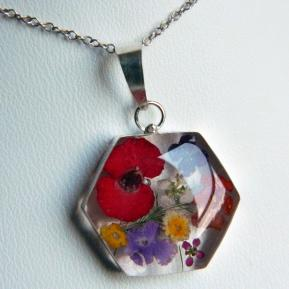Medium Wild Flower Pendant.3.Hexagon.JPG