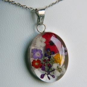 Medium Wild Flower Pendant.4.Oval.JPG