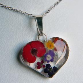 Medium Wild Flower Pendant.8.Heart.JPG