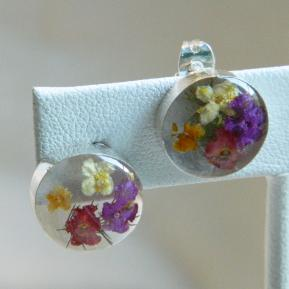 Wild Flower Post Earrings.5.Round.JPG