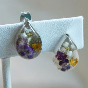 Wild Flower Post Earrings.6.Teardrop.JPG
