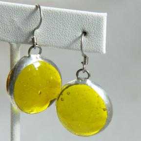 Jewel Earrings.4.Yippee For Yellow.JPG