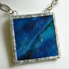 Landscape Necklace.12a.Textured Deep Sea Blue.JPG
