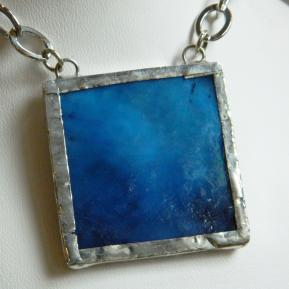 Landscape Necklace.12b.Textured Deep Sea Blue.JPG