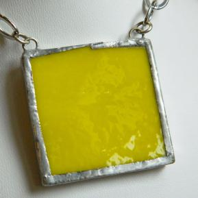 Landscape Necklace.13a.Opaque Banana Yellow.JPG