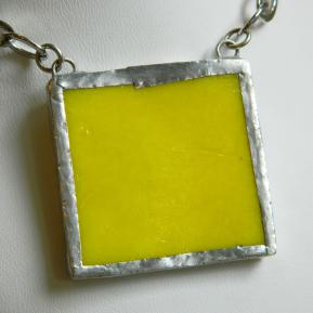 Landscape Necklace.13b.Opaque Banana Yellow.JPG