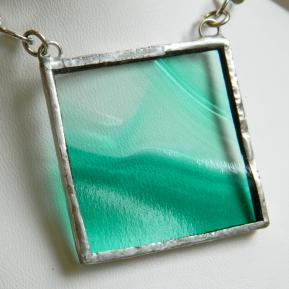 Landscape Necklace.15a.Clear Green.JPG