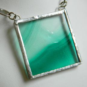 Landscape Necklace.15b.Clear Green.JPG