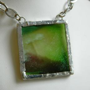 Landscape Necklace.16b.Textured Green Purple.JPG