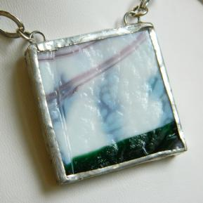 Landscape Necklace.5a.Textured White Green Pink.JPG