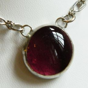 Small Jewel Necklace.13.Passionate Purple.JPG