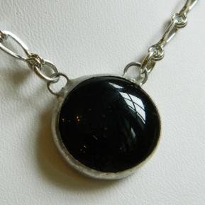Small Jewel Necklace.18.Black Blossom.JPG