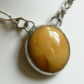 Small Jewel Necklace.5.Captivating Caramel.JPG