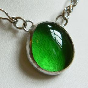Small Jewel Necklace.7.Grassy Green.JPG