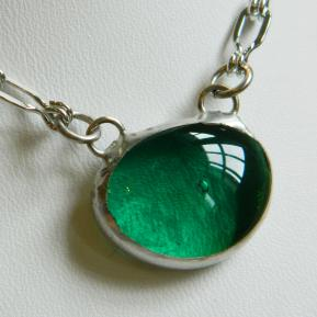 Small Jewel Necklace.8.Enchanting Emerald.JPG