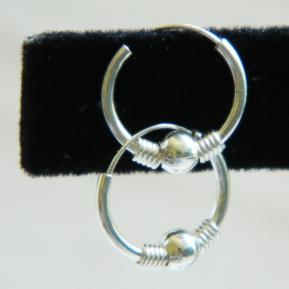Small Ball Sterling Hoop.28.JPG